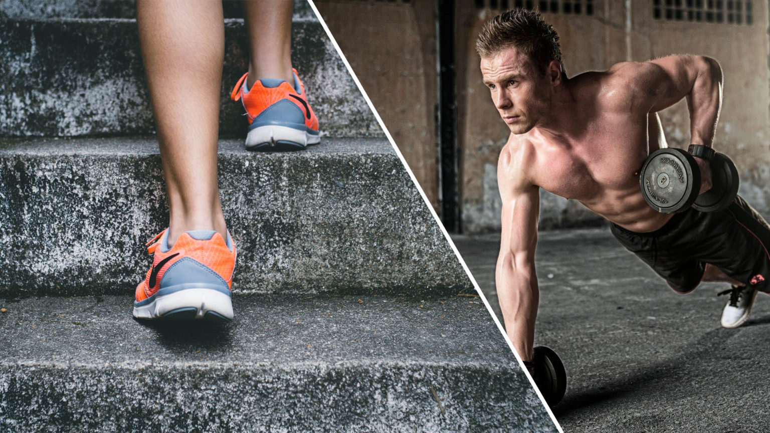 Fitness for beginners and core stability
